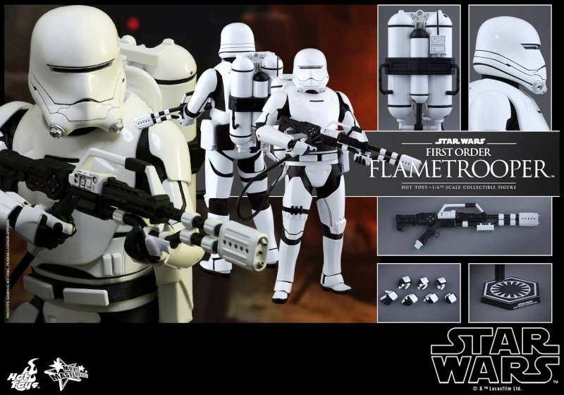 HOT TOYS - Star Wars: TFA -  First Order Flametrooper 11053310