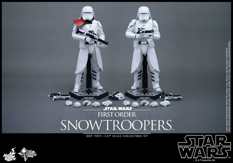 HOT TOYS - Star Wars: TFA - First Order Snowtroopers 11149610