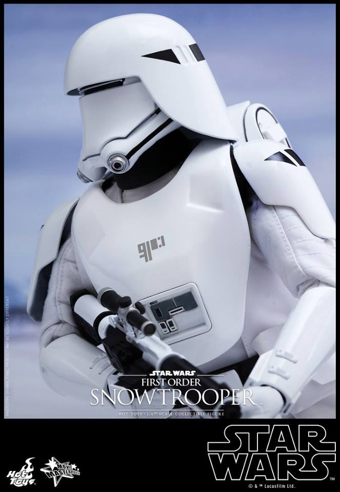 HOT TOYS - Star Wars: TFA - First Order Snowtrooper 11205510