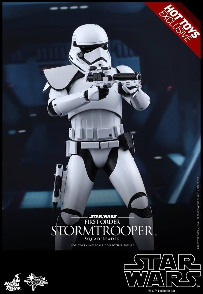 HOT TOYS - SW7: TFA - First Order Stormtrooper Squad Leader 11218910