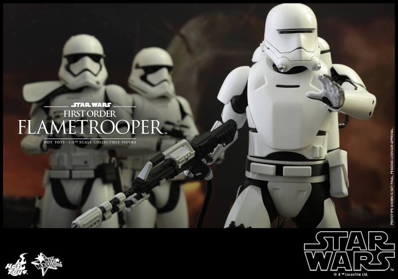 HOT TOYS - Star Wars: TFA -  First Order Flametrooper 11224310