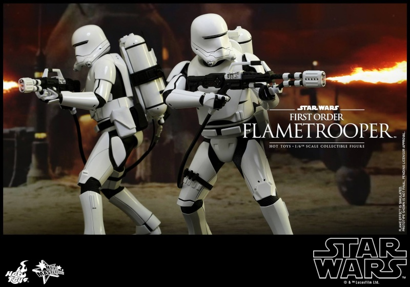HOT TOYS - Star Wars: TFA -  First Order Flametrooper 11229310
