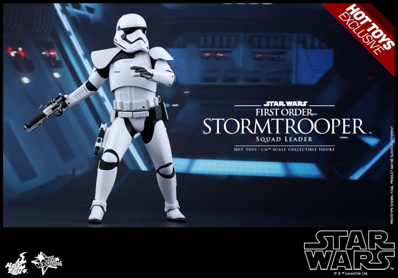 HOT TOYS - SW7: TFA - First Order Stormtrooper Squad Leader 11892210