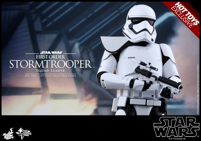 HOT TOYS - SW7: TFA - First Order Stormtrooper Squad Leader 11895010