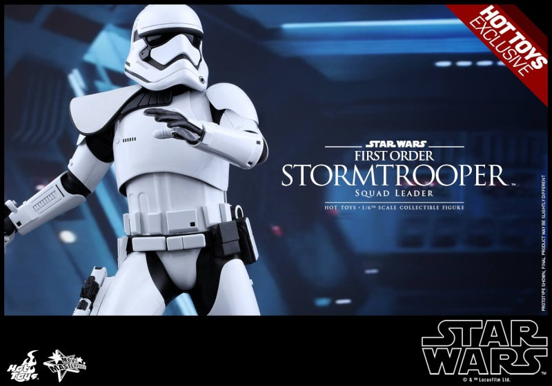 HOT TOYS - SW7: TFA - First Order Stormtrooper Squad Leader 11895210