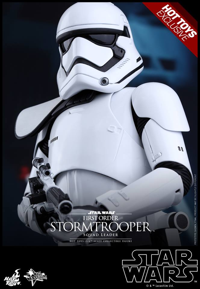 HOT TOYS - SW7: TFA - First Order Stormtrooper Squad Leader 11933410