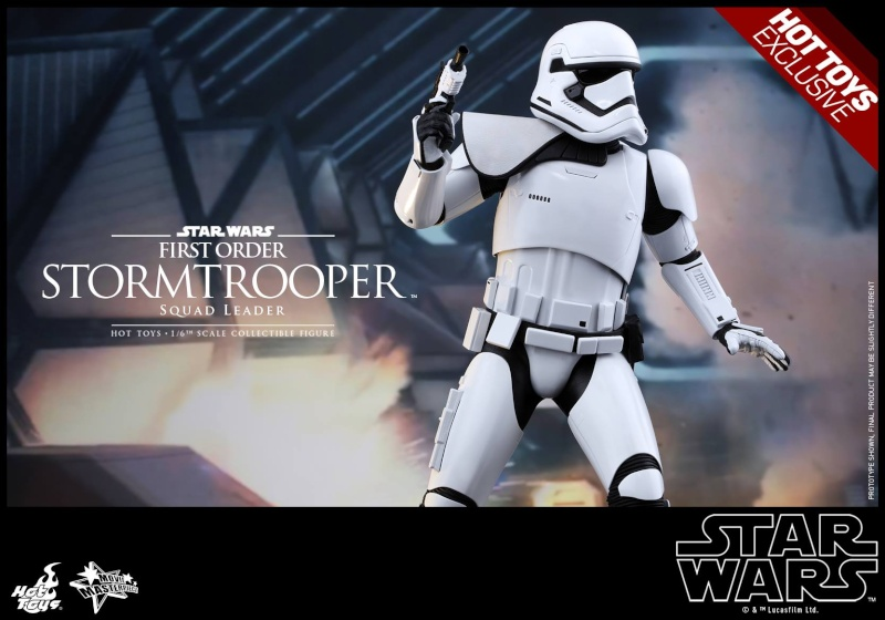 HOT TOYS - SW7: TFA - First Order Stormtrooper Squad Leader 11942110