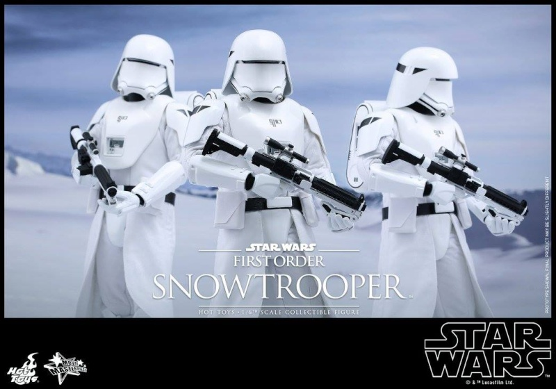 HOT TOYS - Star Wars: TFA - First Order Snowtrooper 11958310