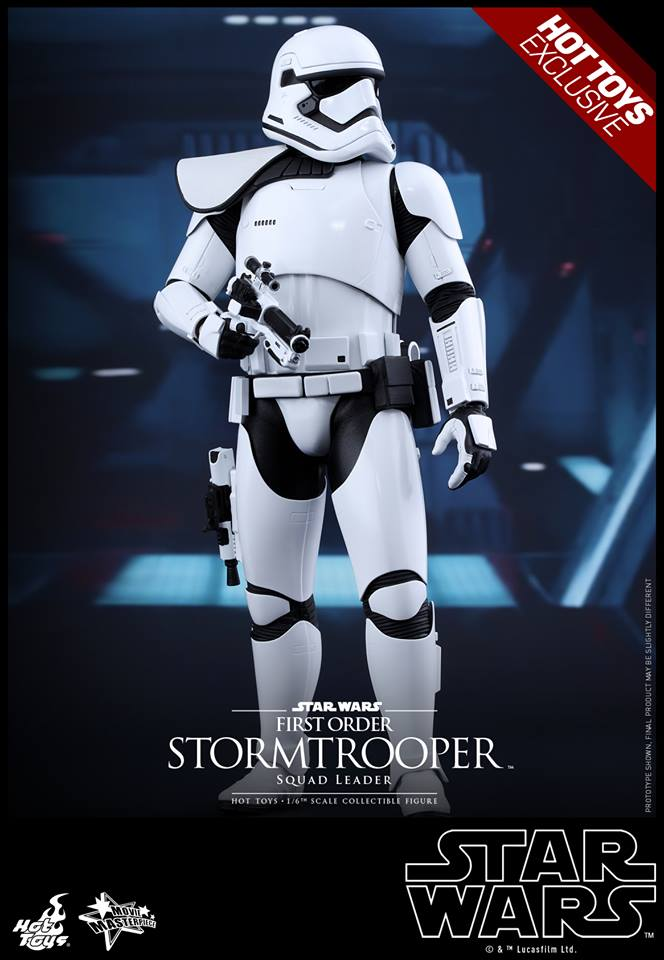 HOT TOYS - SW7: TFA - First Order Stormtrooper Squad Leader 11986410