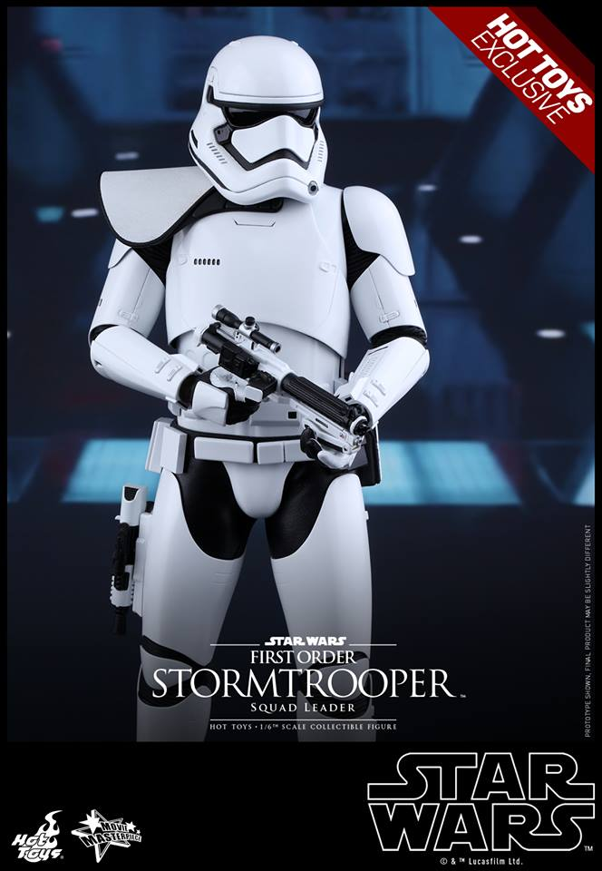 HOT TOYS - SW7: TFA - First Order Stormtrooper Squad Leader 11988211
