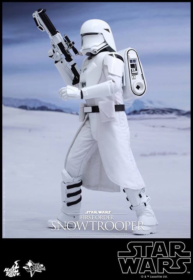 HOT TOYS - Star Wars: TFA - First Order Snowtrooper 11998810