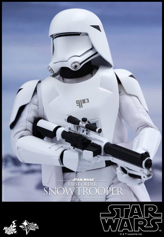 HOT TOYS - Star Wars: TFA - First Order Snowtrooper 11998910