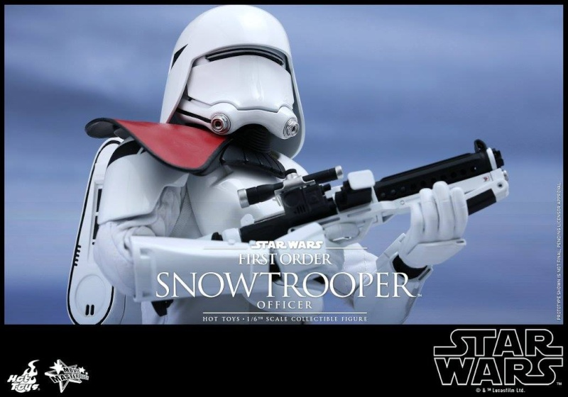 HOT TOYS - Star Wars: TFA - First Order Snowtrooper Officer 12001010