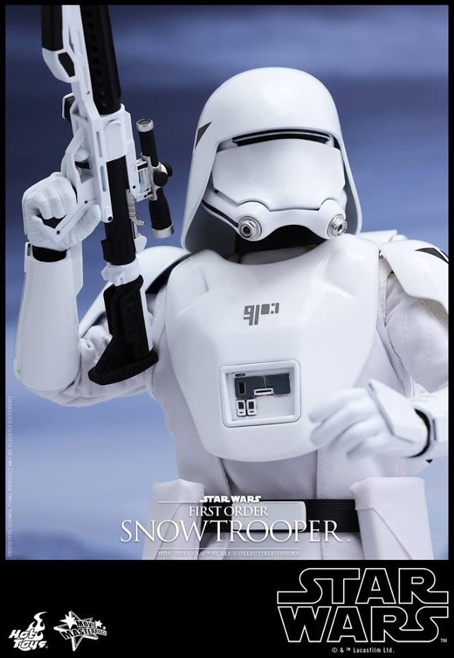 HOT TOYS - Star Wars: TFA - First Order Snowtrooper 12006010