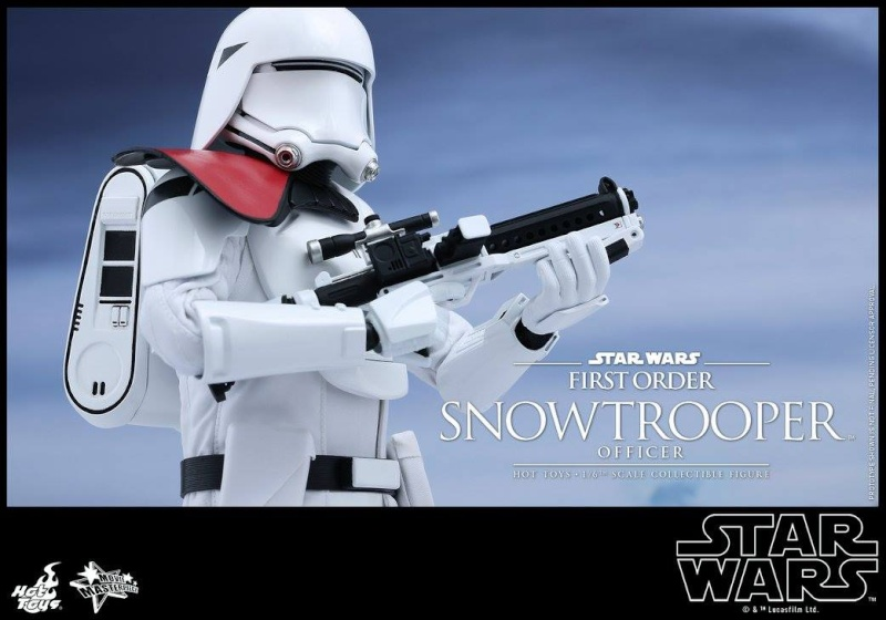 HOT TOYS - Star Wars: TFA - First Order Snowtrooper Officer 12014910