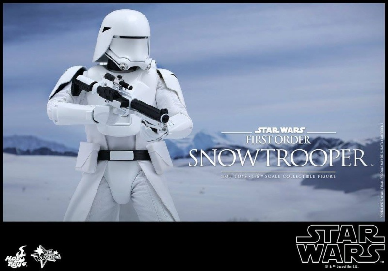 HOT TOYS - Star Wars: TFA - First Order Snowtrooper 12022510
