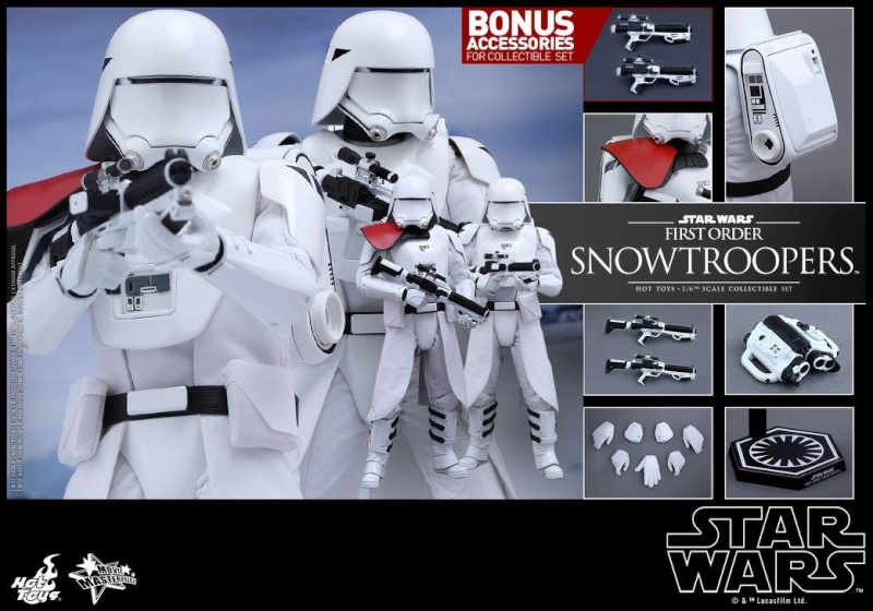 HOT TOYS - Star Wars: TFA - First Order Snowtroopers 12027210
