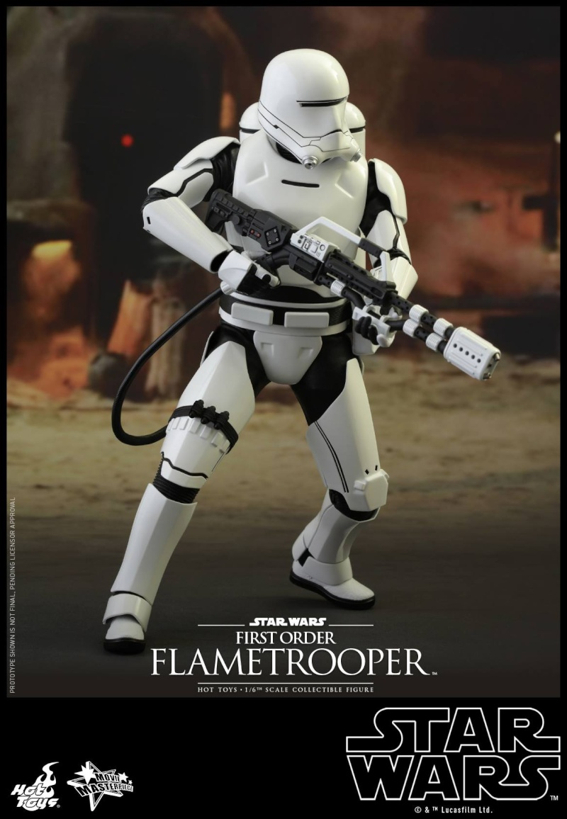 HOT TOYS - Star Wars: TFA -  First Order Flametrooper 12028710