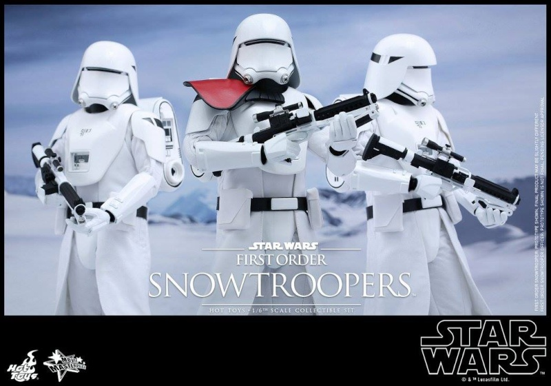 HOT TOYS - Star Wars: TFA - First Order Snowtroopers 12029610