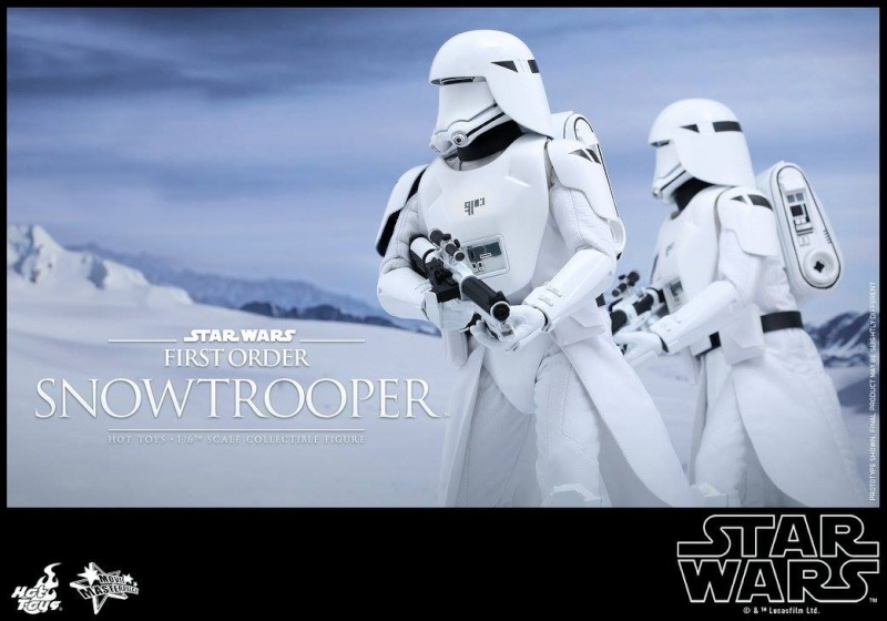 HOT TOYS - Star Wars: TFA - First Order Snowtrooper 12029810
