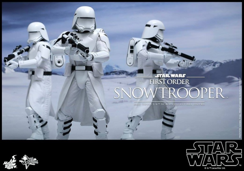 HOT TOYS - Star Wars: TFA - First Order Snowtrooper 12030310
