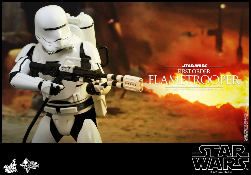 HOT TOYS - Star Wars: TFA -  First Order Flametrooper 12030410