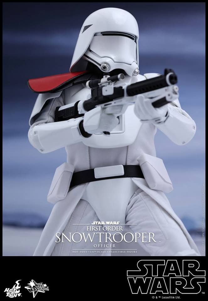 HOT TOYS - Star Wars: TFA - First Order Snowtrooper Officer 12038110