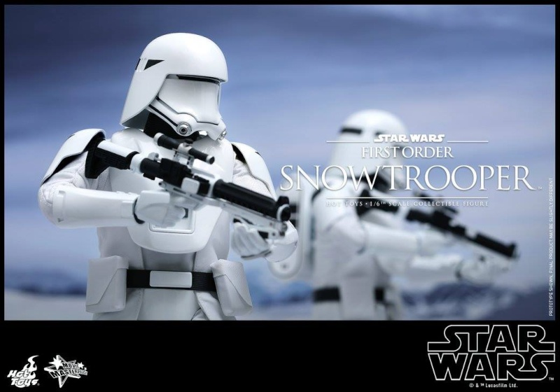 HOT TOYS - Star Wars: TFA - First Order Snowtrooper 12038710