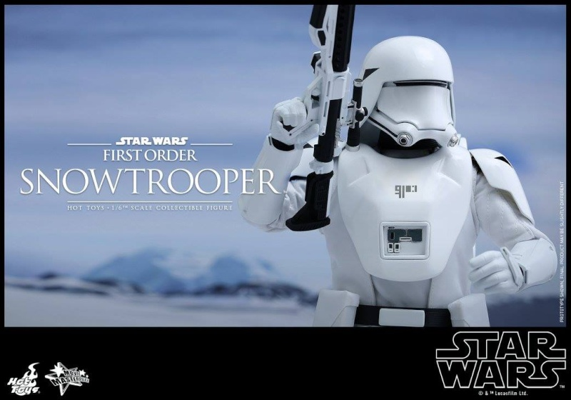 HOT TOYS - Star Wars: TFA - First Order Snowtrooper 12038810