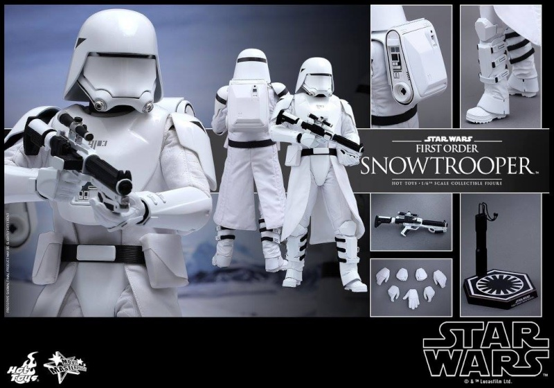 HOT TOYS - Star Wars: TFA - First Order Snowtrooper 12038910