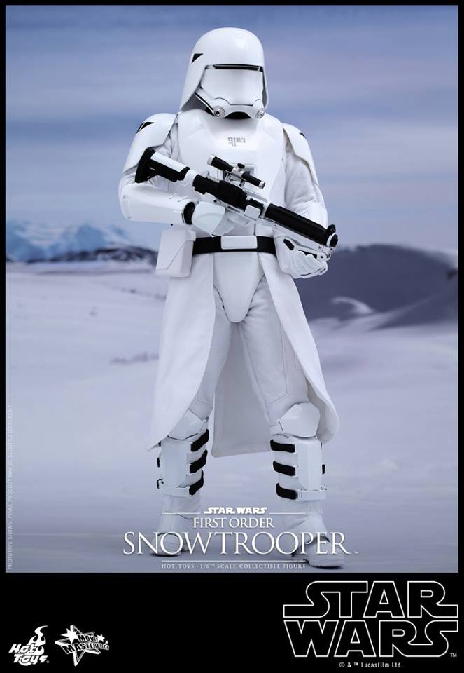 HOT TOYS - Star Wars: TFA - First Order Snowtrooper 12042910