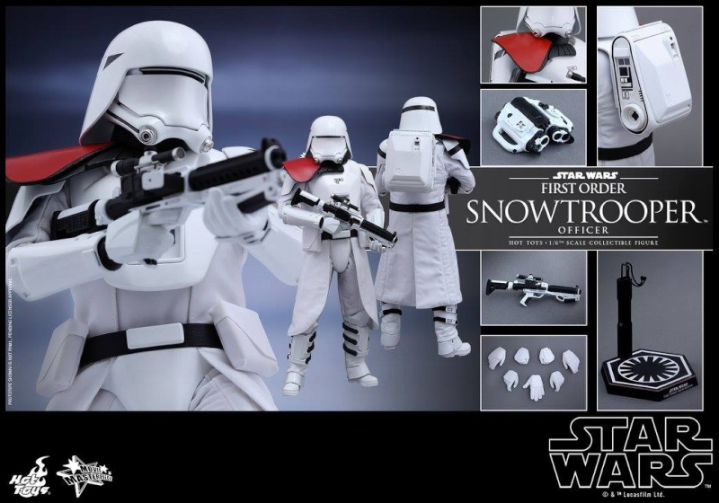 HOT TOYS - Star Wars: TFA - First Order Snowtrooper Officer 12045310
