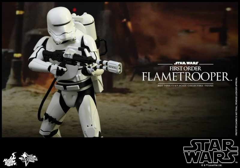 HOT TOYS - Star Wars: TFA -  First Order Flametrooper 12045311
