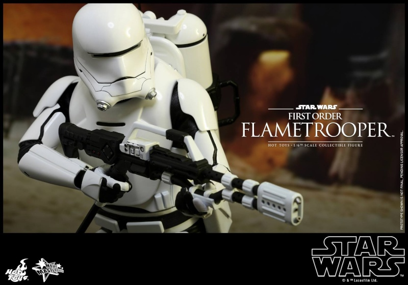 HOT TOYS - Star Wars: TFA -  First Order Flametrooper 12087210