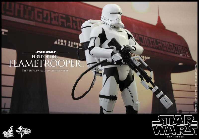 HOT TOYS - Star Wars: TFA -  First Order Flametrooper 12095310