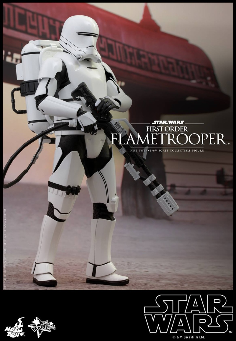 HOT TOYS - Star Wars: TFA -  First Order Flametrooper 12113410