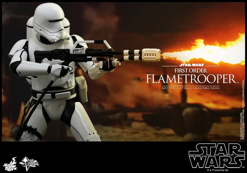 HOT TOYS - Star Wars: TFA -  First Order Flametrooper 12182610