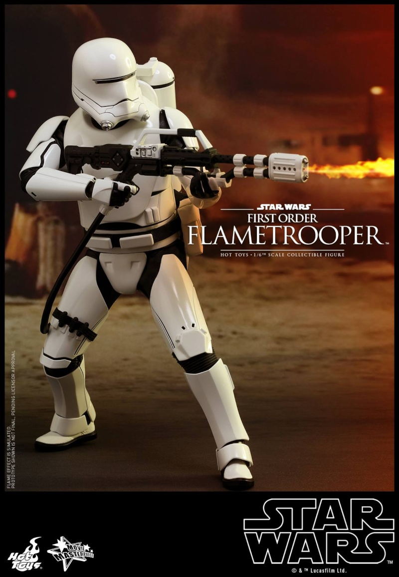 HOT TOYS - Star Wars: TFA -  First Order Flametrooper 12182810