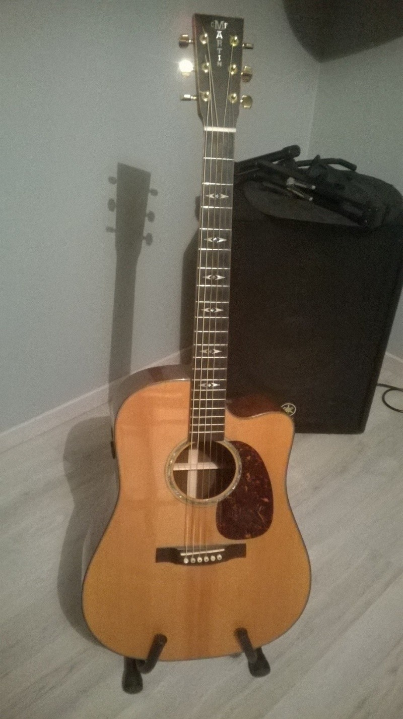 vente guitare Martin DCPA1 Wp_20110