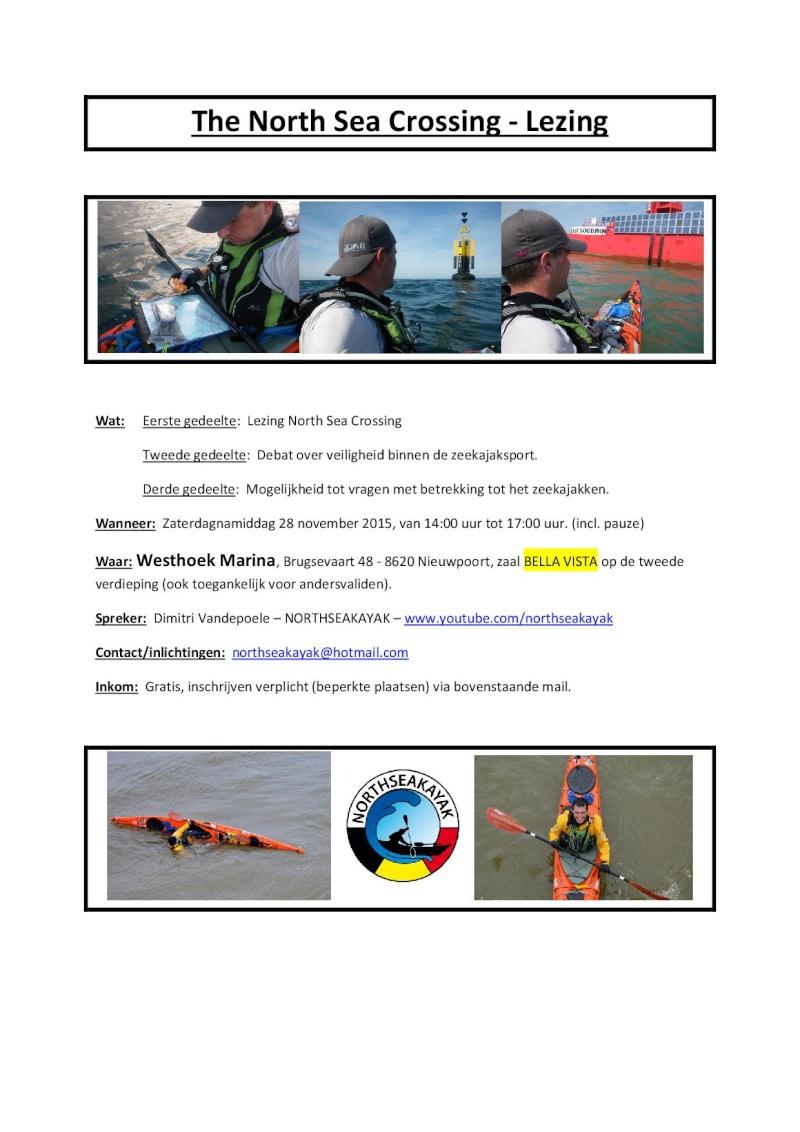 28/11/2015 Conférence de Dimitri: Noordzee oversteek The_no10
