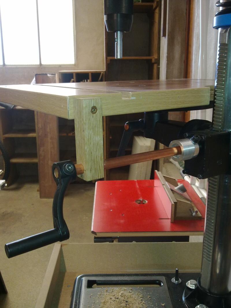 Une nouvelle table pour perceuse à colonne 02102025