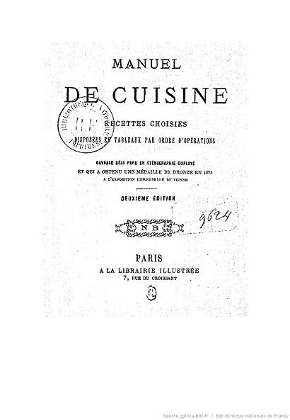 Ouvrages anciens :  Les livres de cuisine  18_man10