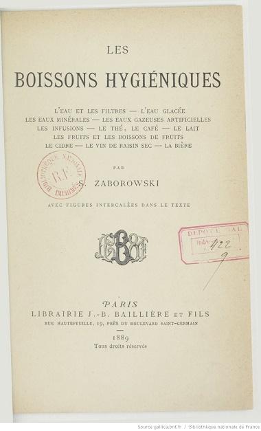 Ouvrages anciens : Les Breuvages .. Boisso10