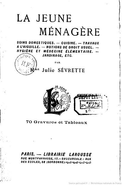 Ouvrages anciens :  Les livres de cuisine  La_jeu10
