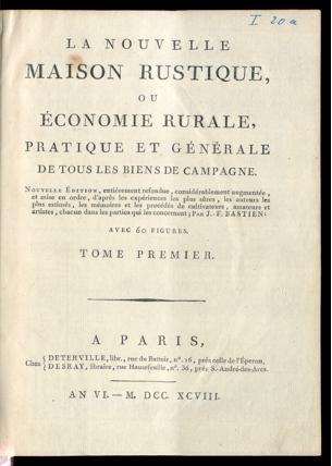 [PDF] Ouvrages anciens: Jardins ,Potagers, Cultures ,Economie Domestique La_nou10