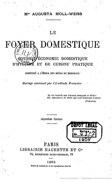 Ouvrages anciens :  Les livres de cuisine  Le_foy10