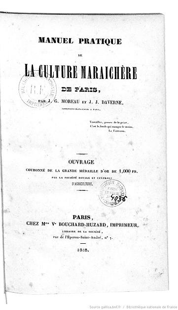 [PDF] Ouvrages anciens: Jardins ,Potagers, Cultures ,Economie Domestique Manuel12