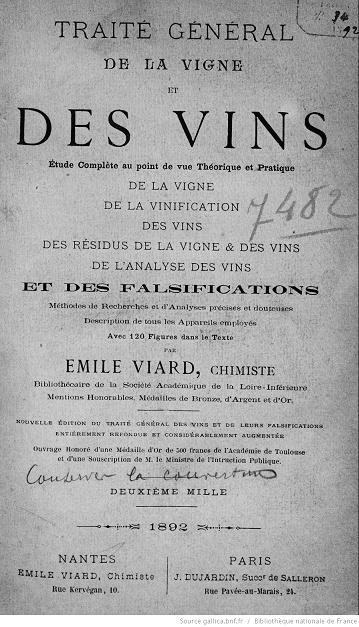 Ouvrages anciens : Les Breuvages .. Vigne_10