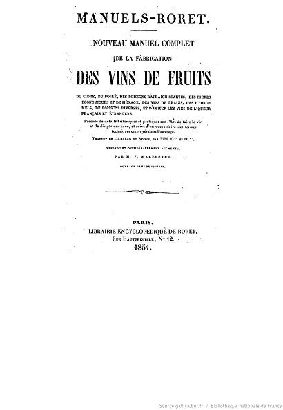Ouvrages anciens : Les Breuvages .. Vins_d10