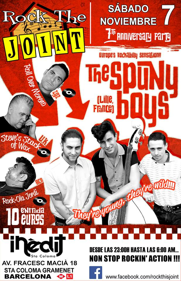 The Spunyboys 11891111